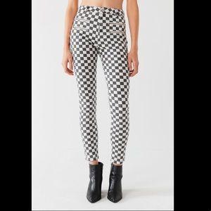 BDG checkered jeans